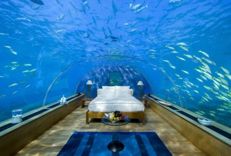 Underwater Hotels Surfacing Worldwide