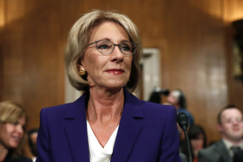 Secretary of Education: Betsy DeVos
