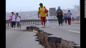 8.2 Magnitude Earthquake Hits Chilean Coast