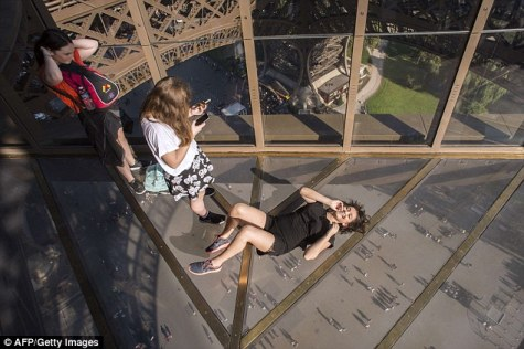 A Remodeled Eiffel Tower Includes a New Floor for its 125th Anniversary
