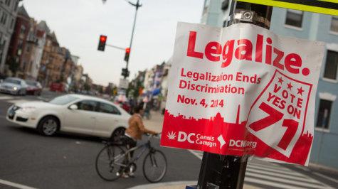 Recreational Marijuana Legalized In Two U.S States, and Washington, D.C.
