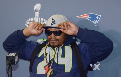 Marshawn Lynch has taken advantage of the NFL's commercialization with his