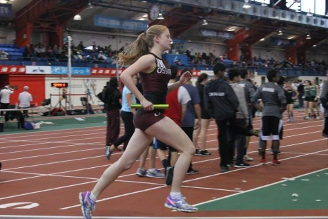 Keeley is one of Ossining's  most talented runners in recent years.