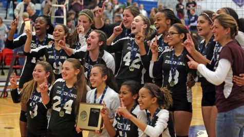 Ossining Varsity Girls Volleyball Section 1 Class AA Champs