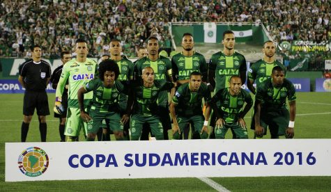 Brazilian Soccer Team Plane Crash