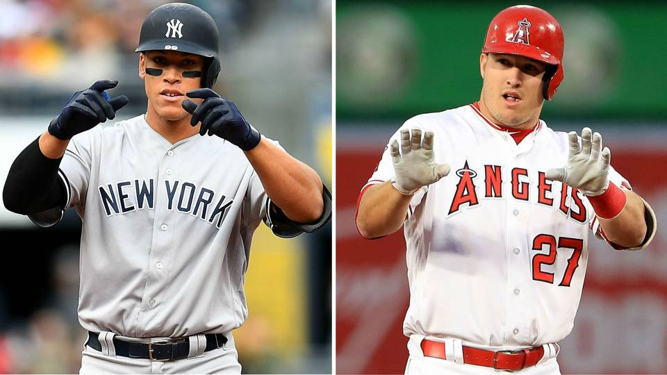 Is Aaron Judge the Next Mike Trout?