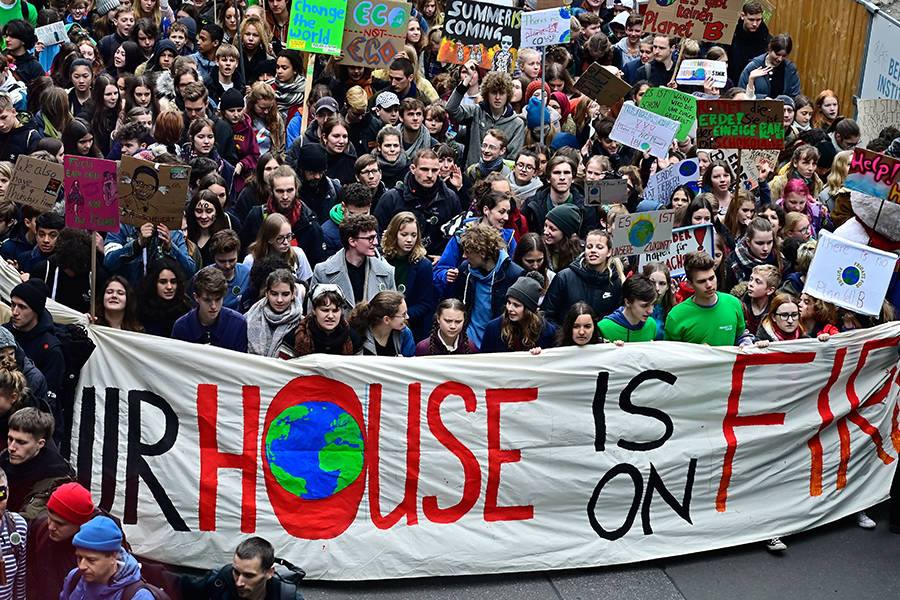 Climate Change March was attended by 7.6 million people.