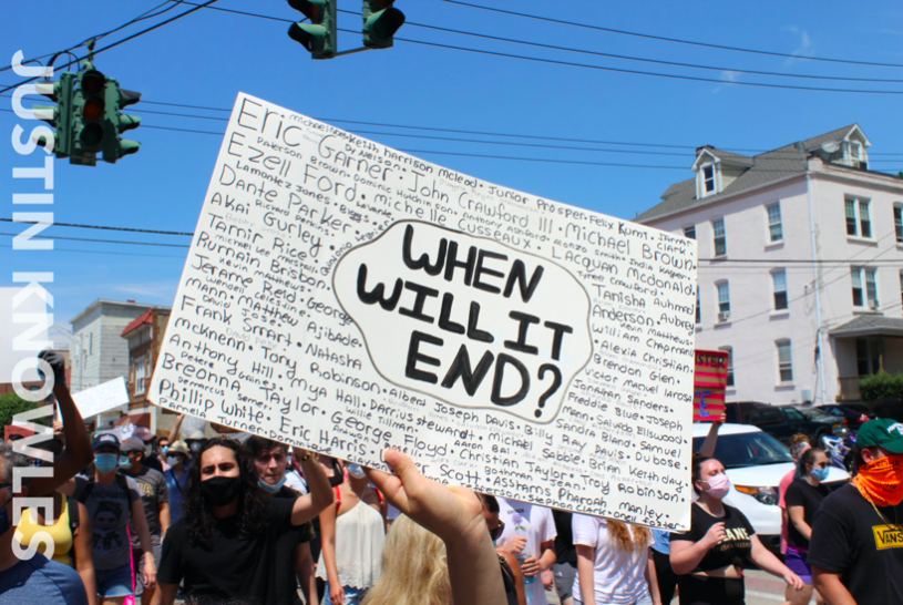 Anatomy of a Movement--Black Lives Matter: From Its Creation to the 2020 Protests