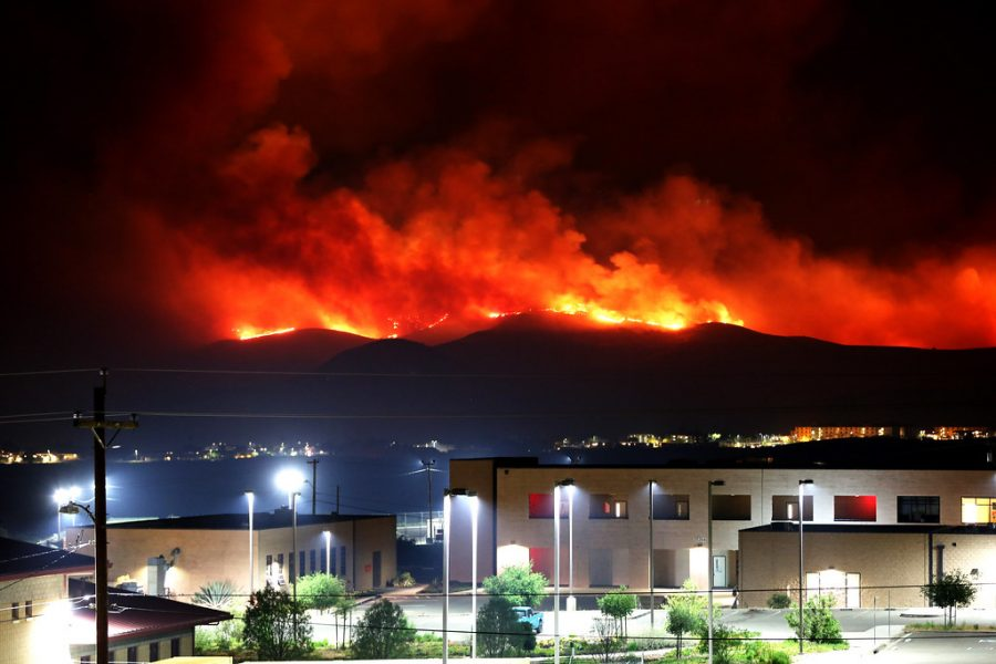 Camp Pendleton fire [Image 4 of 9] by DVIDSHUB is licensed with CC BY 2.0. To view a copy of this license, visit https://creativecommons.org/licenses/by/2.0/