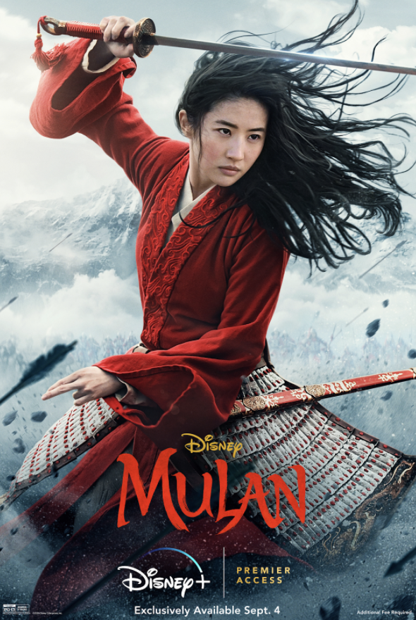 Mulan (2020) -- Live-Action Adaptation of a Disney Favorite Raises Questions About Cultural Representation in Hollywood