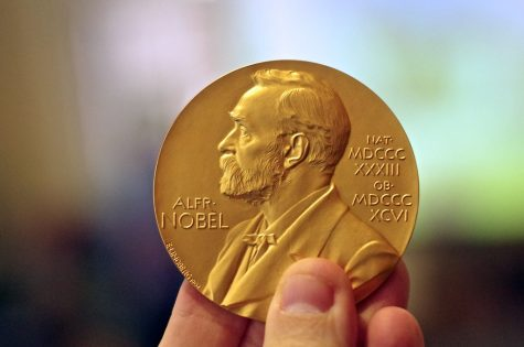 """Nobel Prize Medal in Chemistry"" by AlphaTangoBravo / Adam Baker is licensed with CC BY 2.0. To view a copy of this license, visit https://creativecommons.org/licenses/by/2.0/"