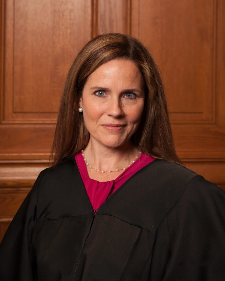 """File:Amy Coney Barrett.jpg"" by Rachel Malehorn is licensed with CC BY 3.0. To view a copy of this license, visit https://creativecommons.org/licenses/by/3.0"
