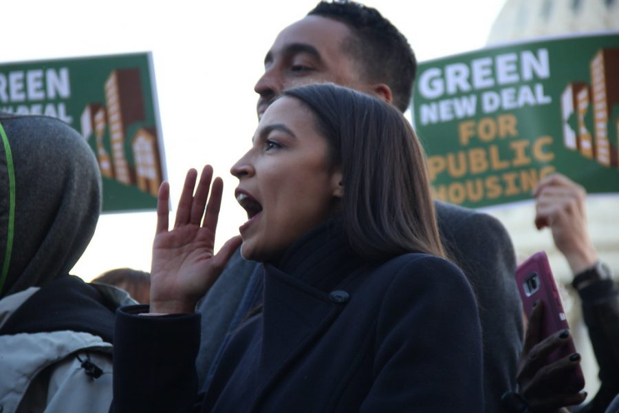 Fair Housing/Green New Deal bill announcement by Jackie Filson is licensed under CC BY-NC-SA 2.0